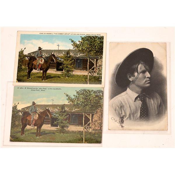 Charles M. Russell Vintage Postcards  [137801]