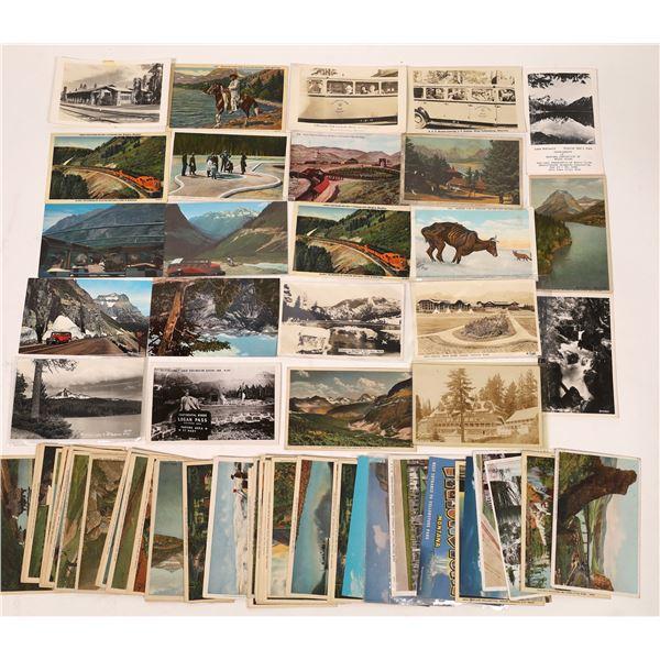 Glacier National Park Postcard Collection  [137800]