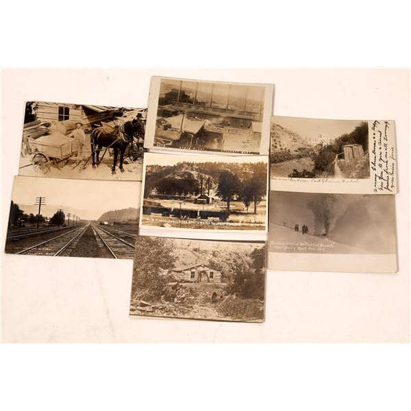Montana Mining and Railroad Postcard Collection  [137805]