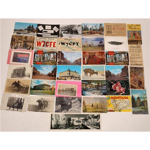Montana Postcard Collection  [137803]
