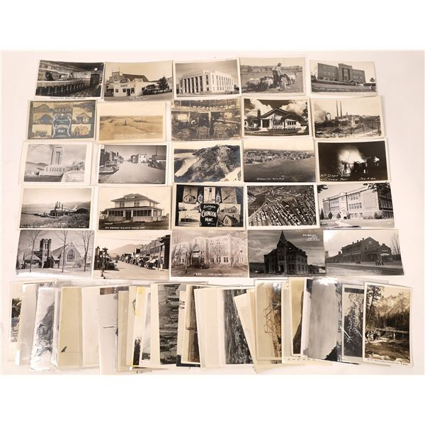 Montana White Border and Other Real Photo Postcard Collection  [137806]