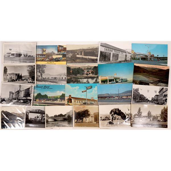 Reno & Sparks area Postcards (20)  [136465]