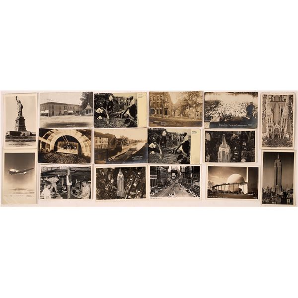 New York Real Photo Postcard Collection  [137931]