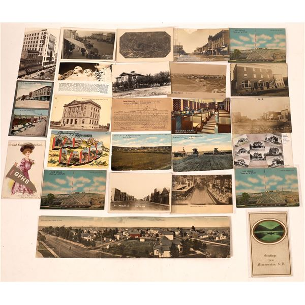 North Dakota Postcards (24)  [137771]