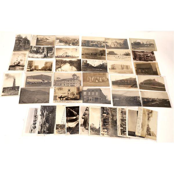 Oklahoma Real Photo Postcard Collection  [137930]
