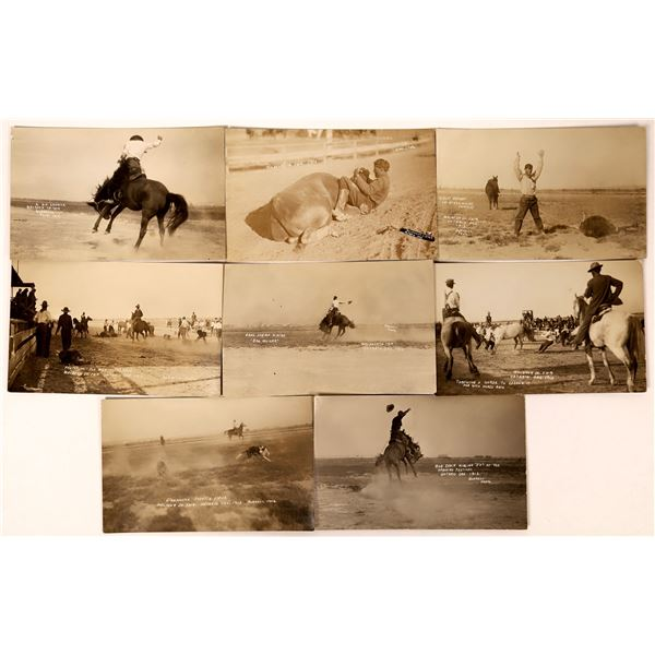 Oregon Rodeo Real Photo Postcard Group  [135757]