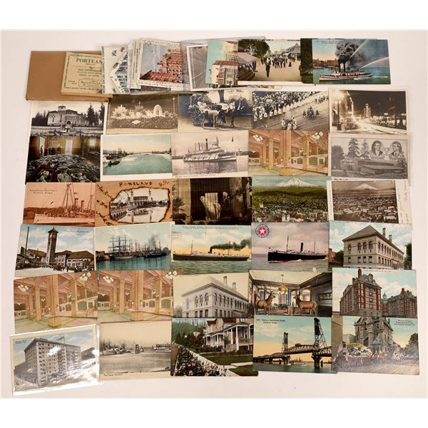 Portland Oregon Postcards and RPC's (approx 50)  [137640]