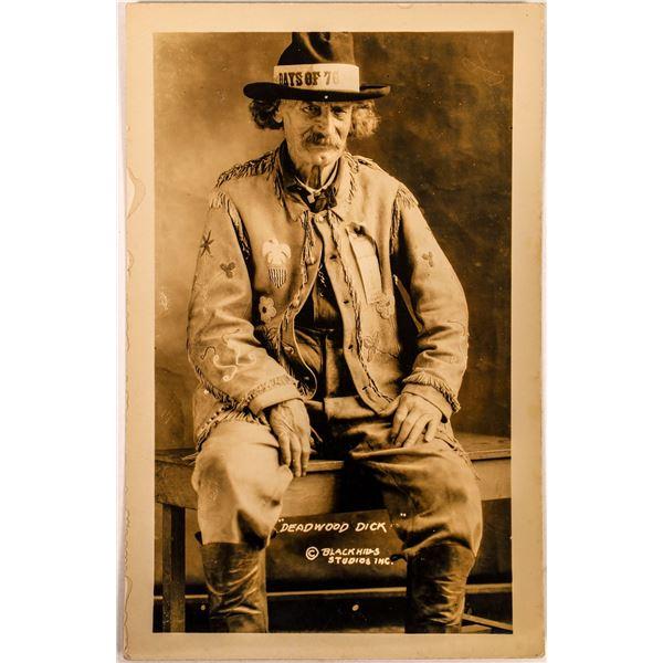 "Real Photo Postcard of ""Deadwood Dick"" (Richard Clarke)  [134168]"