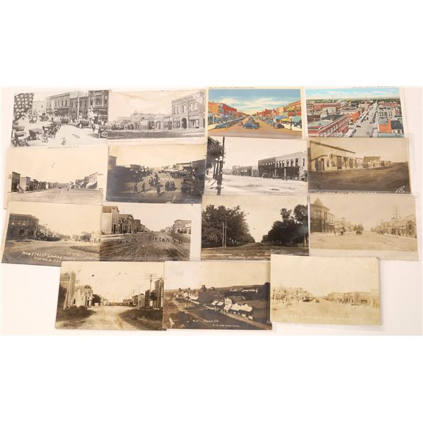 South Dakota Street Scene Postcard Collection  [135146]