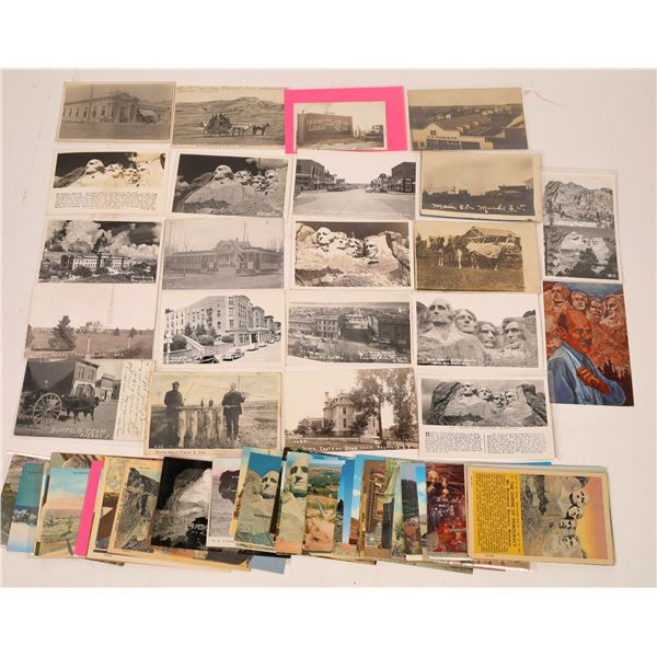 South Dakota Postcard Collection (80+)  [137756]