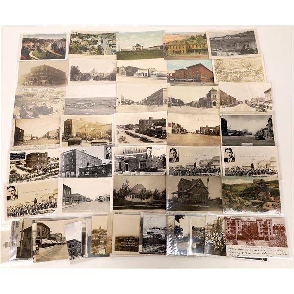 South Dakota Postcard Collection: Street Scenes  [133704]