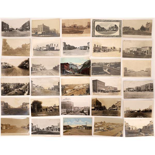 South Dakota Street Scene Postcard Collection  [135149]