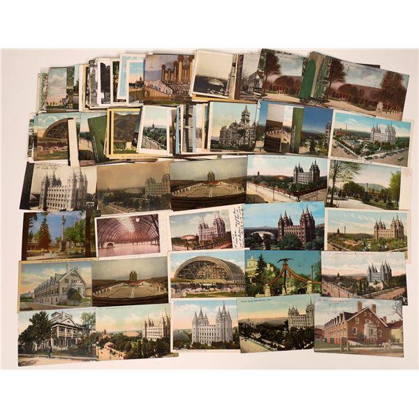 Postcard Collection Regarding Mormon History (Approx 200)  [138095]