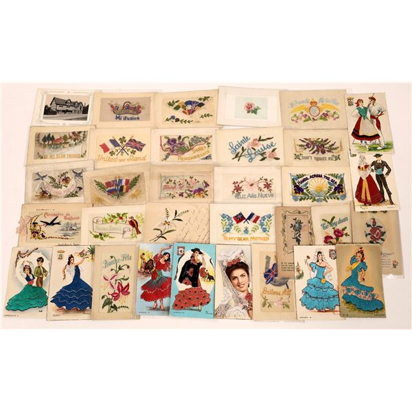 Amazing Embroidered Postcards ~ 27  [137673]