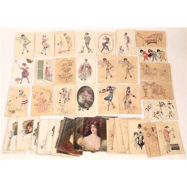 Art Postcards (54)  [136739]