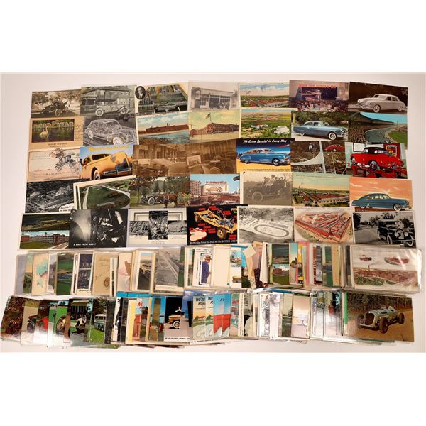 Auto and Truck Postcards ~ 200  [138806]