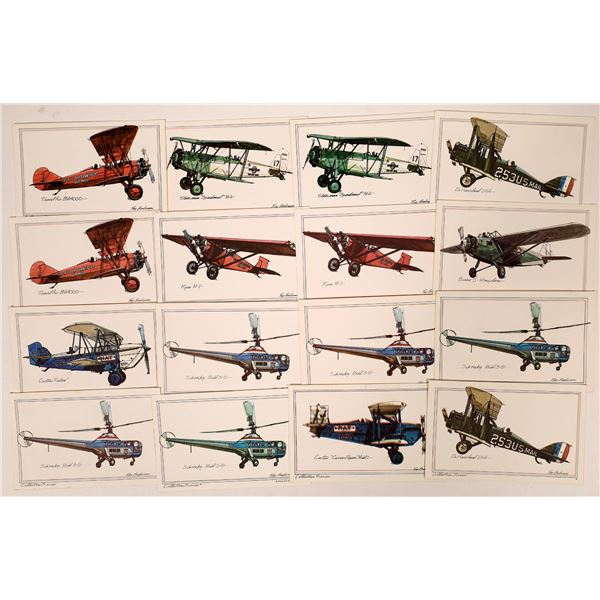 Aviation Art Collectors Series Postcards by Roy Anderson - 16  [137112]