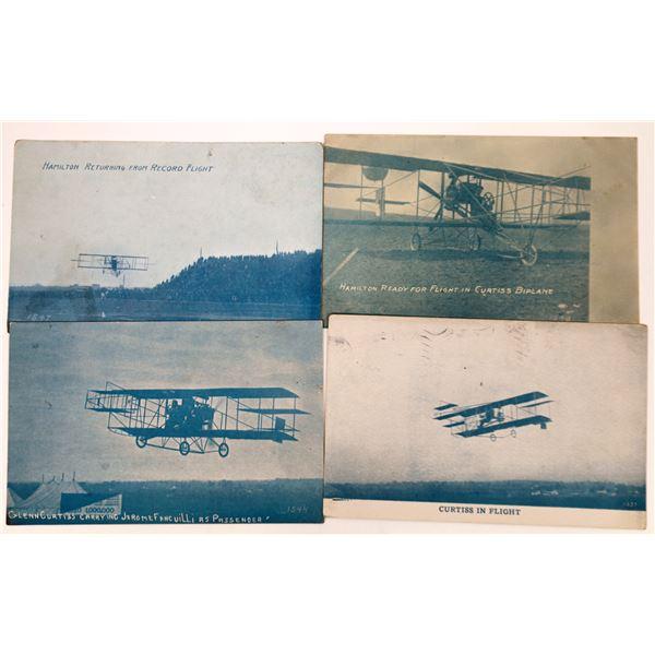Aviation Pioneer Postcards #1 - Curtis and Hamilton - 4  [137102]