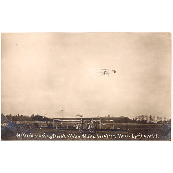 Aviation Pioneer Postcards #7 - Charles F. Willard - 1  [137106]