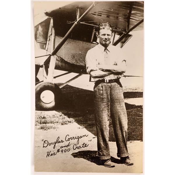 Aviation Pioneer Postcards #8 - Douglas Corrigan - 1  [137107]