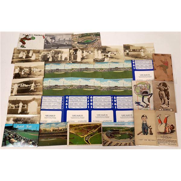 Baseball Postcard Collection  [137471]