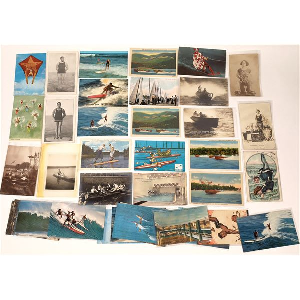 Water Sports Themed Postcards (36)  [137922]