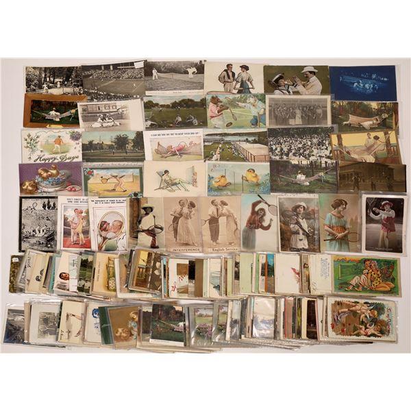 Tennis Postcards ~ 300  [138805]