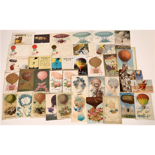 Balloon Art Special-Occasion Postcards - 37  [137114]