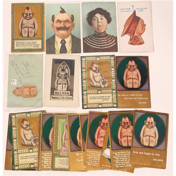 Billiken and Funny Faces Postcards ~ 22  [138785]