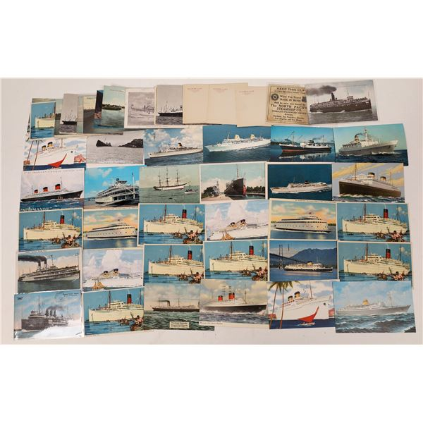 Boats on Postcards  [133719]
