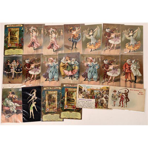 Early Circus Art Postcards  [137577]
