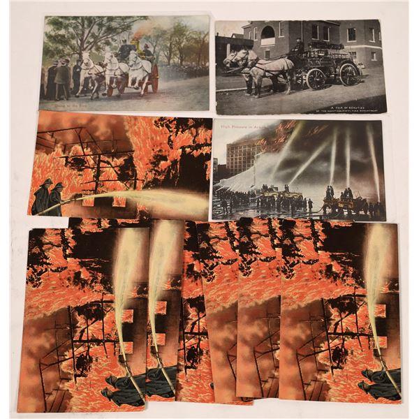 Firefighting Postcards, 11  [137686]