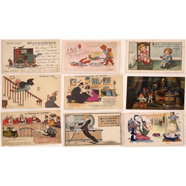 Humorous Postcard Collection   [127077]