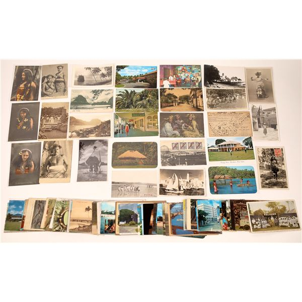 Island Themed Postcard Collection  [137920]