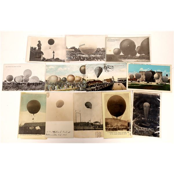 It's a Gas -- Hydrogen and Helium Balloon Postcards - 12  [137108]