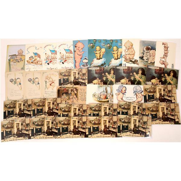 Kewpie Doll Postcards ~ 32  [137674]