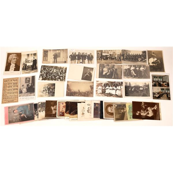 Music Related Postcard Collection  [137946]