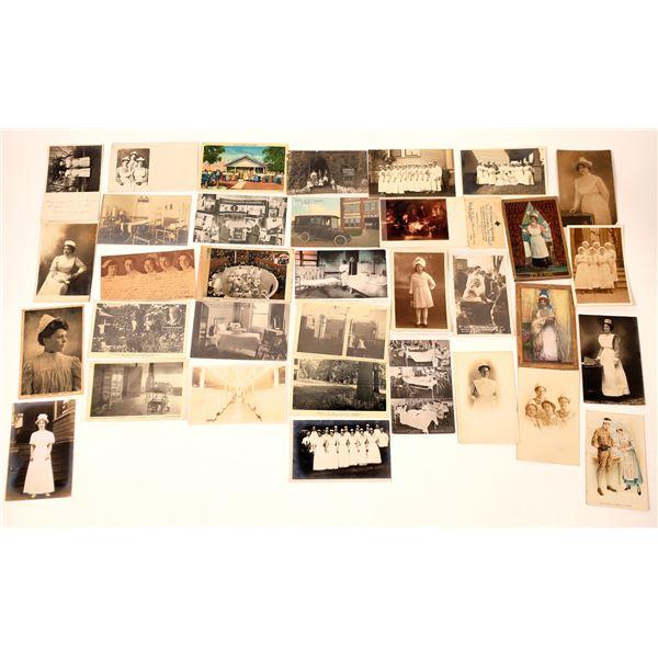 Nurse Themed Postcards & RPC's  [137064]