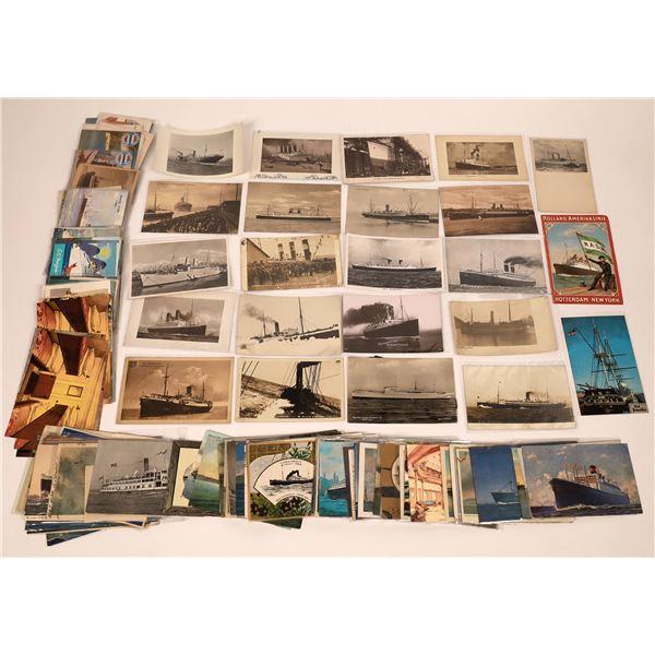 Ocean Liner Postcard Collection  [137597]