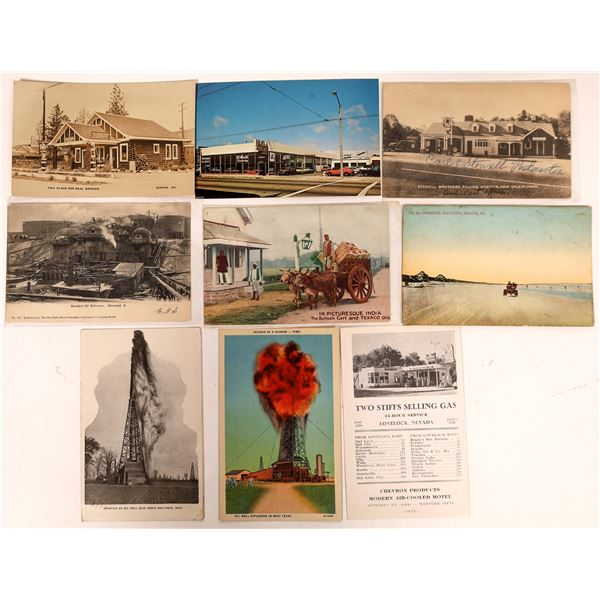 Oil & Energy Postcard Collection  [127079]