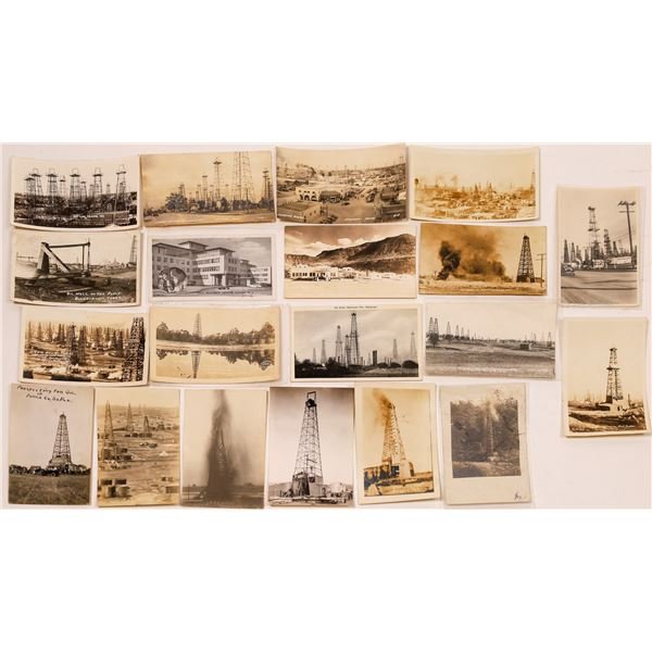 Oil Fields & Energy Postcards (20)  [127084]