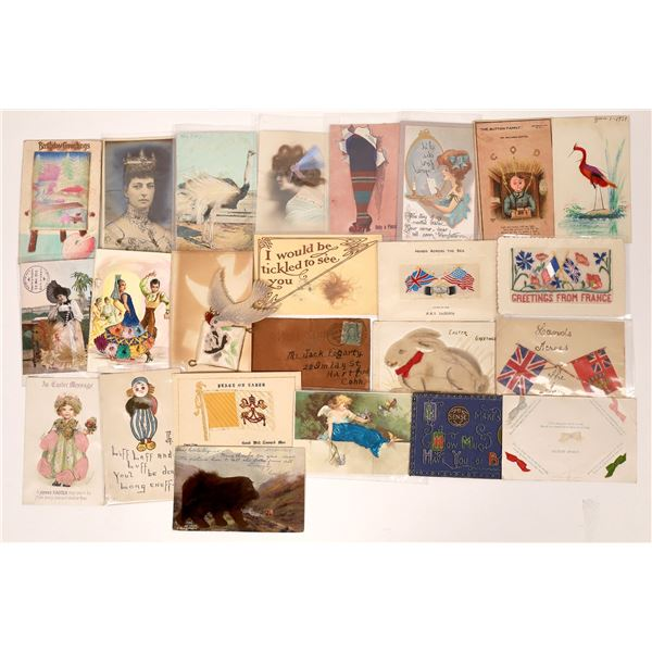 Ornamented Postcards - 22  [138789]