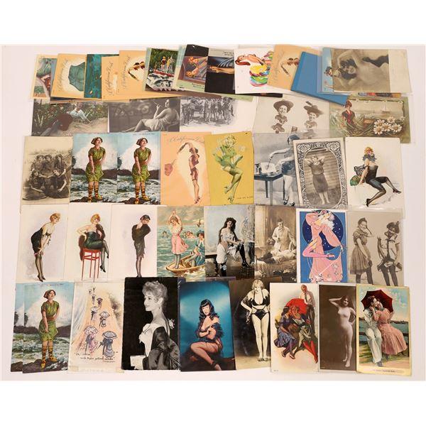Pinup Postcard Group #1 ~50  [137664]