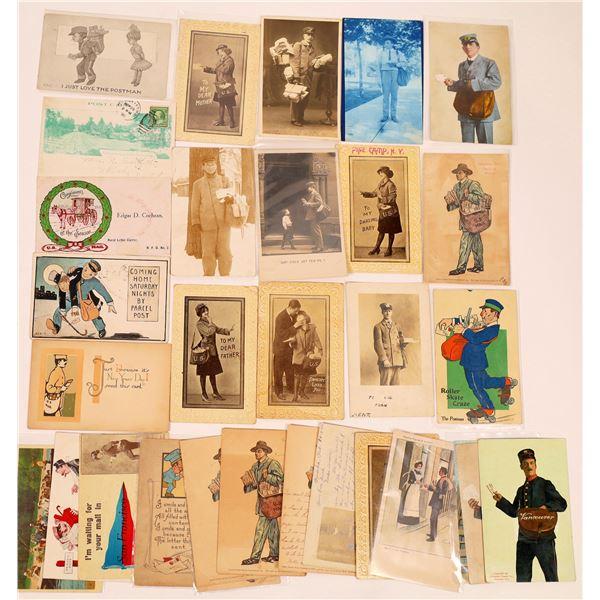 Postal Carrier Postcards ~ 31  [137683]