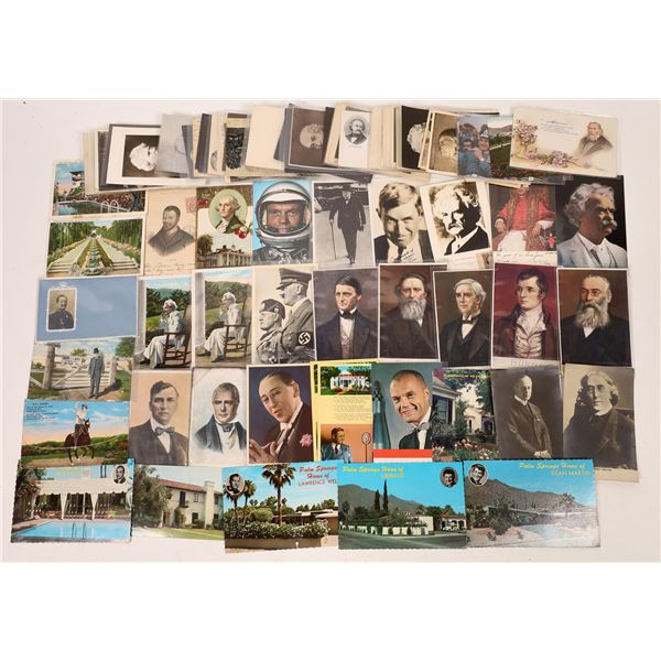 Postcards of Famous People  [133718]