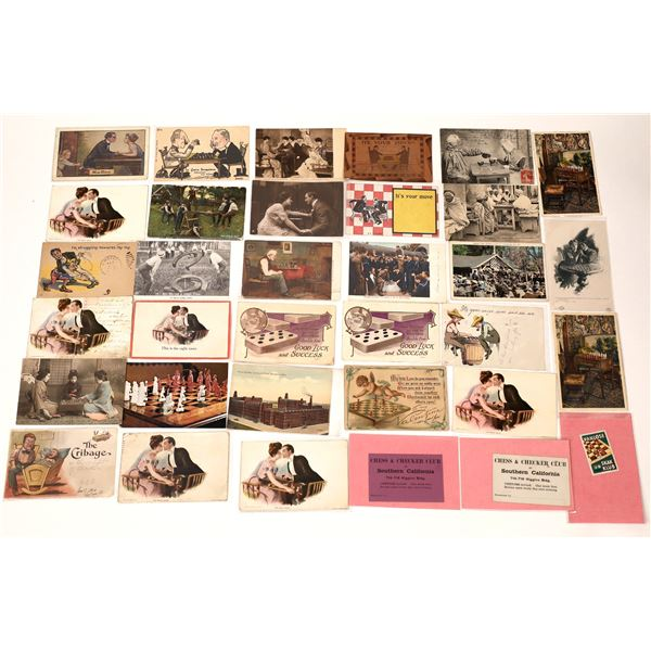 Postcards of Games: Checkers, Chess, Go, etc.   [137951]