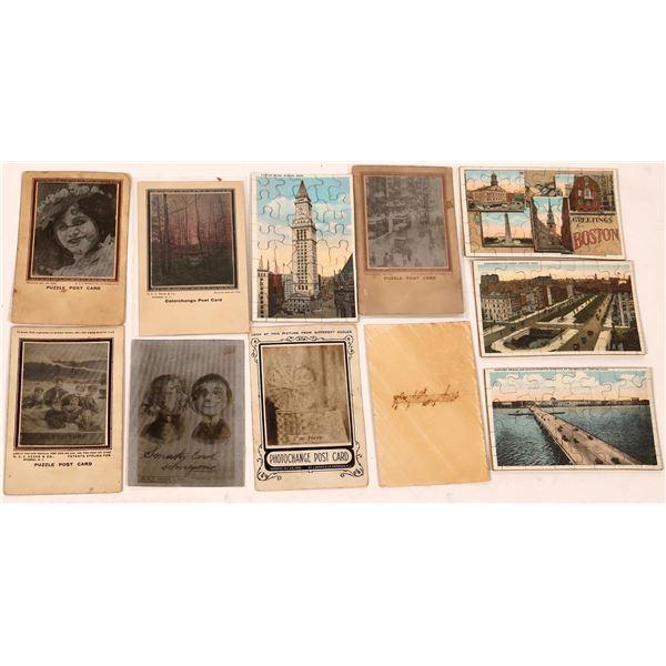 Puzzle Postcard Collection  [137936]