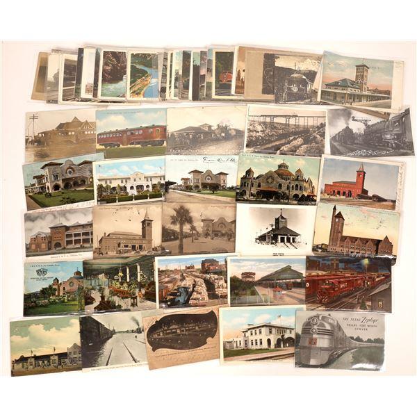 Railroad Postcard Collection  [133667]