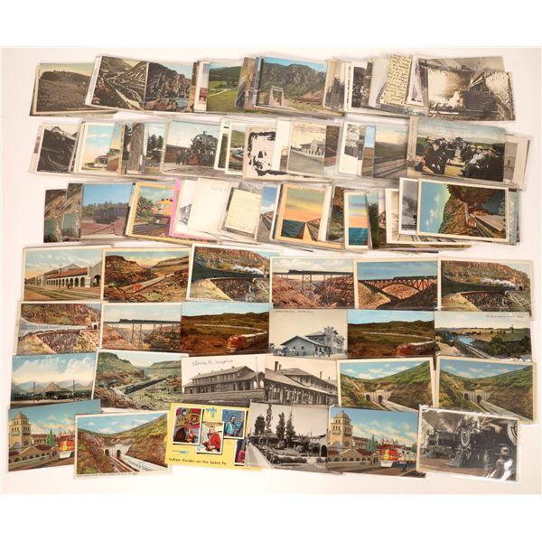 Railroad Postcard Collection  [133717]