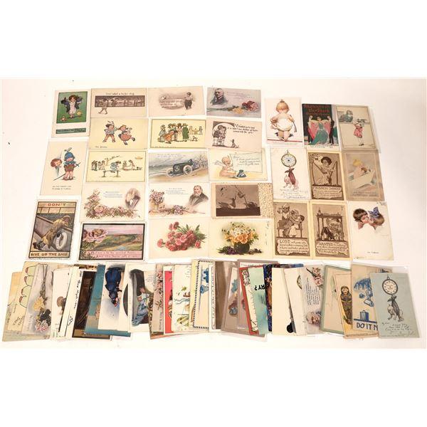 Signature Art Postcard Collection (74)  [137072]